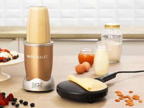 Nutribullet Gold - Екстрактор и Апарат за палачинки Delimano