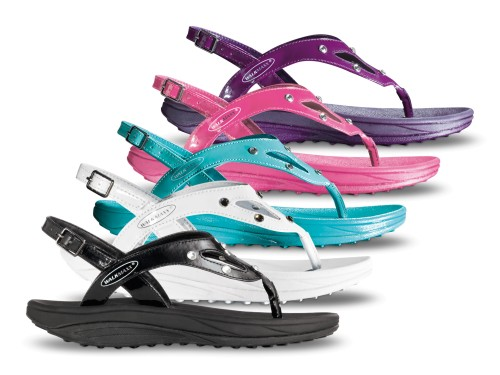 Fitness сандали со кристали Walkmaxx