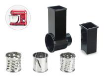 Delimano Kitchen Robot Додаток - Сет за сечкање и рендање