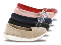 Walkmaxx Comfort Stripe Балетанки
