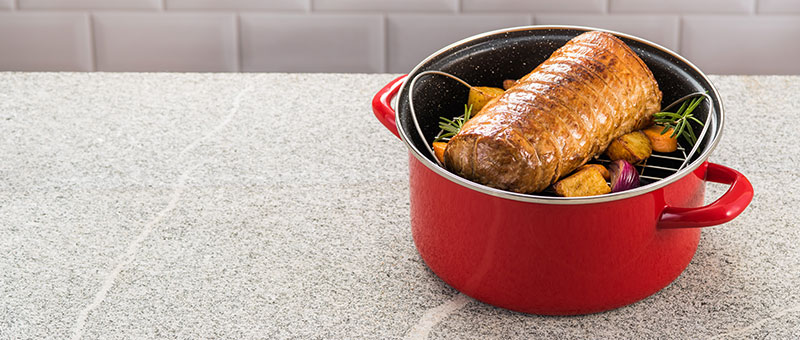 Stone Legend Лонец за готвење и печење 24 см.