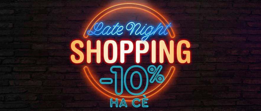 Late Night Shopping со ПОПУСТИ на сѐ