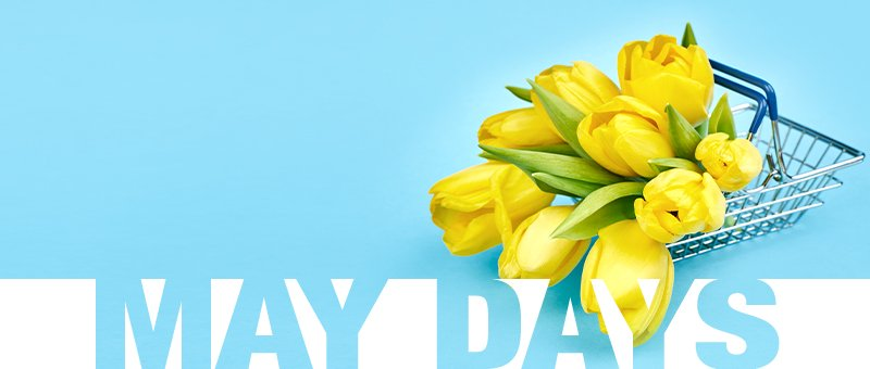May Days со попусти до 70%