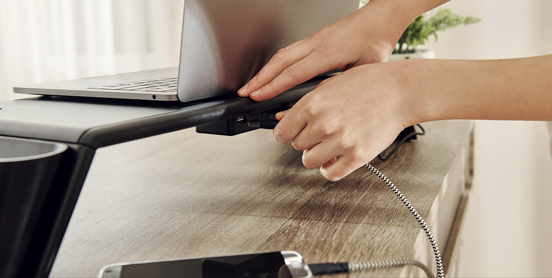 Dormeo UV Light Monitor&Laptop Stand